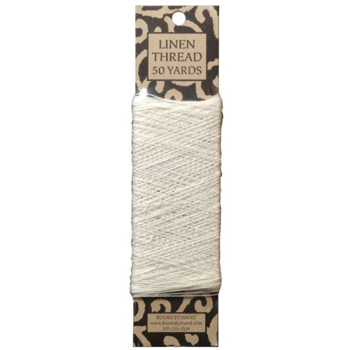 Linen Thread (Books by Hand Linen Thread 50 Yards)
