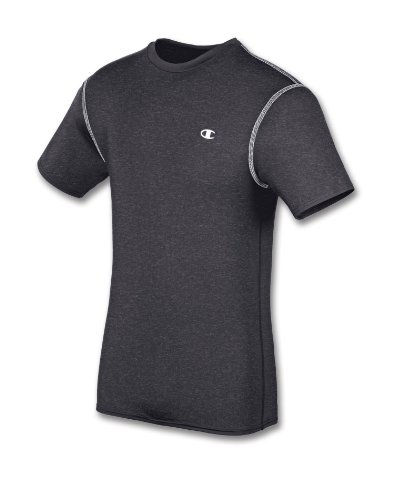 Champion Double Dry Short-Sleeve Men's Compression T Shirt S