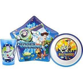 Disney / Pixar Toy Story 3-Piece Mealtime Set (Plate Bowl and Tumbler  sc 1 st  Amazon.com & Amazon.com: Disney / Pixar Toy Story 3-Piece Mealtime Set (Plate ...