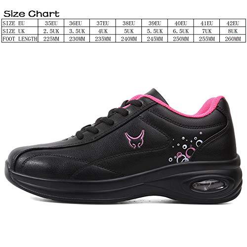 Da rosso Basse Donna Sneakers Sportive Nero Scarpe Shoes Fitness a41 Outdoor Ginnastica Running Multisport 6n7FF51qw