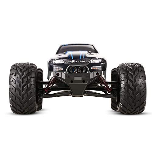 Arshiner RC Car Off-road Vehicle 1:12 42km/h High Speed Racing Hobby Car 2.4GHz Toy for Kids Red(Rechargeable battery included)