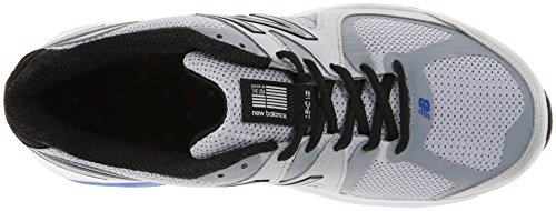 New Balance Men's M1540V2 Running Shoe,Silver/Blue,9.5 2E US