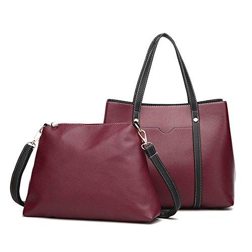 Deux Dames Rose Skew La Gules Main Mode Sac Spanning Épaule Unique GWQGZ Mode Bag Pièces Mode À À BIwnqzp
