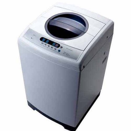 Leveling System 2.5' (RCA 2.5 cu ft Portable Washer, White)