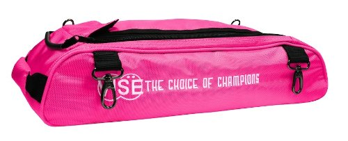 Vise Shoe Bag Add-On Three Ball Tote, Pink