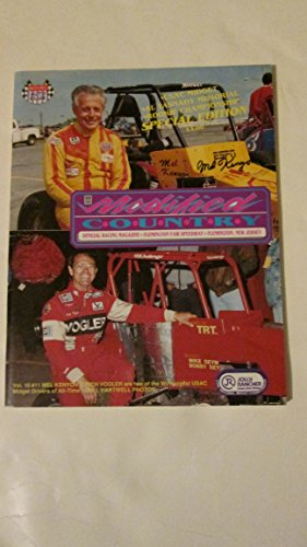 Modified Country Volume 10 Issue 11 - 1989 Official Racing Program Magazine (Paperback) Mel - Flemington Shops