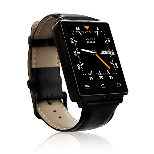 Indigi NEW 2017 3G Android 5.1 Smart Watch Phone (GSM Factory Unlocked) Maps + WiFi + GPS + Google Play Store by inDigi (Image #2)