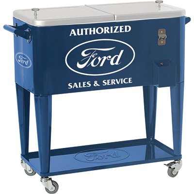Ford Rolling Cooler (Lower Metal Shelf)