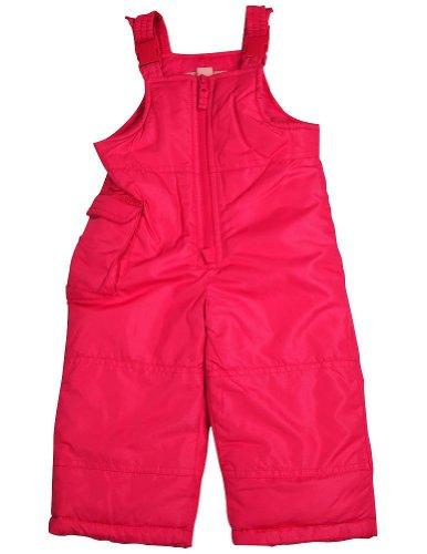 London Fog - Baby Girls Bib Snowpant, Pink 34082-18Months-FBA - Infant Snow Pants