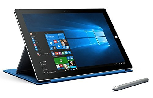 Microsoft Surface Pro 3 Tablet (1631) Silver - 256GB, 12in, Windows 8, Intel Core i5 - Renewed (Best Price For Windows 8 Tablet)