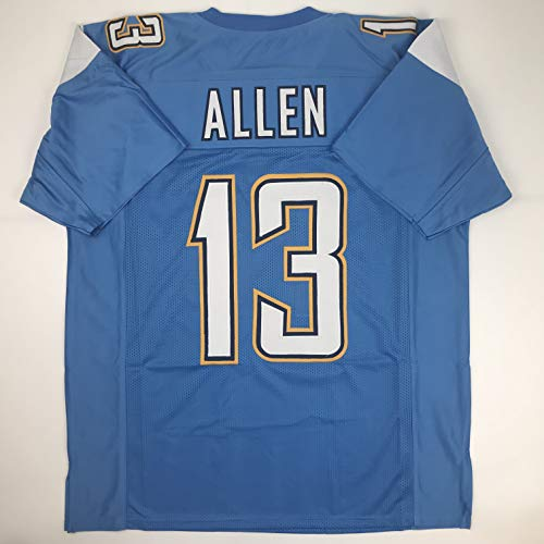 Unsigned Keenan Allen Los Angeles LA Powder Blue Custom Stitched Football Jersey Size Men's XL New No Brands/Logos ()
