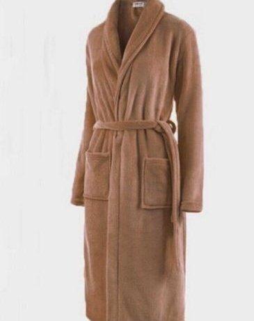 Hylong Band New Distaff Lady loosen Long Sleepwear Comfortable Robes Coral Fleece Spa Bathrobe Pink one size by Hylong (Image #6)