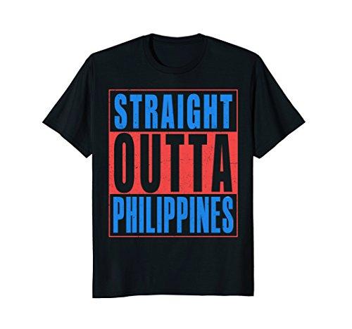 Straight Outta Philippines T-Shirt Filipino Pride