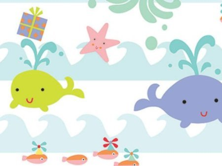 Sea Babies Premium Gift Wrapping Roll 24