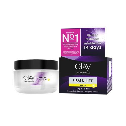 Olay Anti-Wrinkle Firm and Lift  SPF 15 Anti-Ageing Day Cream Moisturiser,...