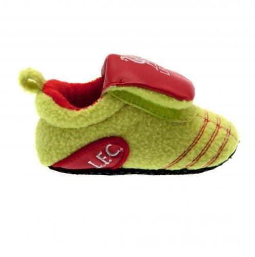 Nuevo de Liverpool FC Club De Fútbol Botas de neón cuna zapatos de bebé 3 - 6 meses: Amazon.es: Bebé