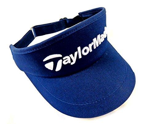 NEW TaylorMade High Crown Navy/Blue Adjustable Hat/Visor