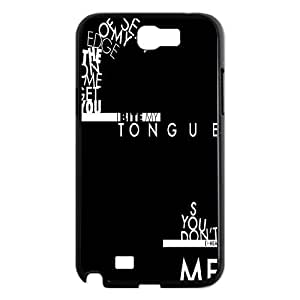 Chinese You Me At Six Custom Case for Samsung Galaxy Note 2 N7100,personalized Chinese You Me At Six Phone Case