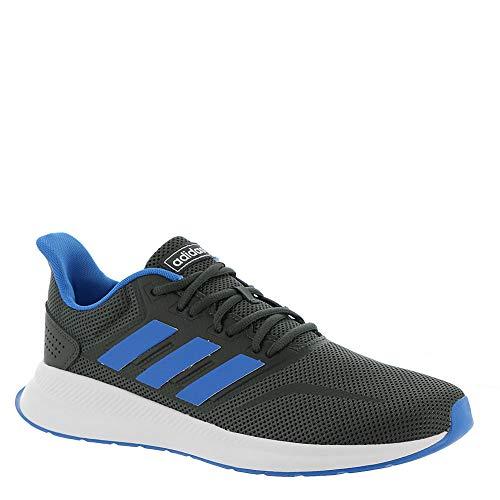 adidas Runfalcon Men's Running Shoes Grey Six/True Blue g28730 (9.5 D(M) US)
