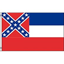 3'x5' MISSISSIPPI Polyester Flags