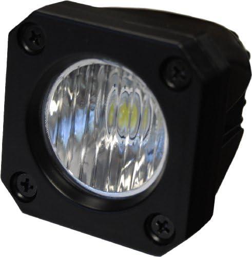 JAMMY LED 10 Watt Work Light 2 x2 800 Lumen MultiBeam Euro Spot Flood Off Road UTV Lamp