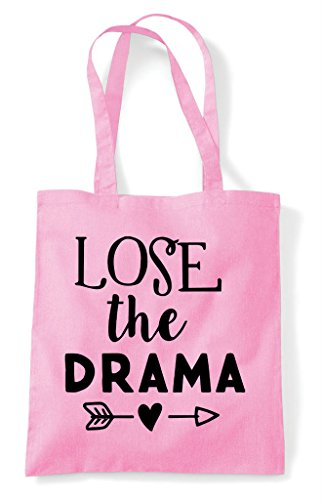 Drama Shopper Pink Light Lose The Tote Bag 54wITTfqx