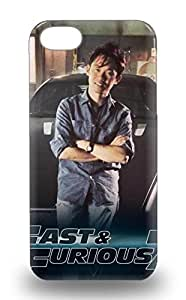 For Iphone 5/5S Phone Case Cover Slim Fit PC Protector Hollywood Furious 7 Furious 7 Action Drama Crime Shock Absorbent Bumper 3D PC Soft For Iphone 5/5S Phone Case Cover ( Custom Picture For Iphone 5/5S Phone Case Cover ) Kimberly Kurzendoerfer