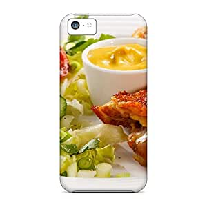 New Iphone 5c Cases Covers Casing(salad With Chicken)