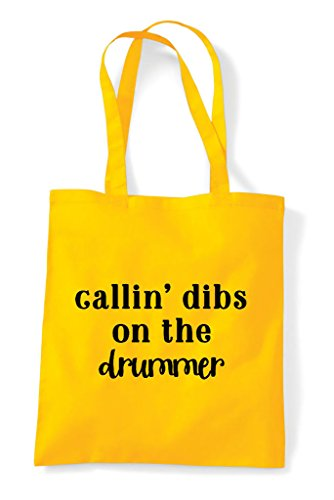 On Dibs Statement The Yellow Tote Shopper Drummer Calling Bag g5wSdSqT