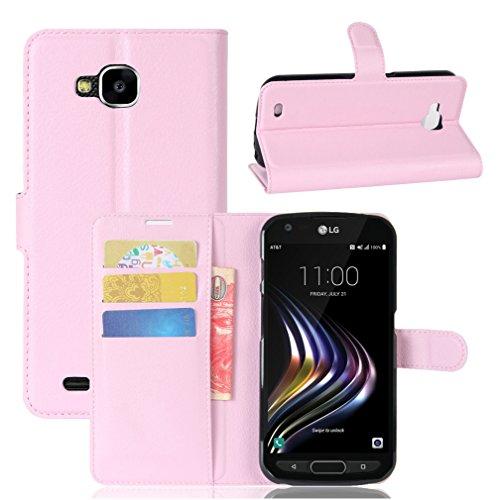 Funda LG X Venture,Manyip Caja del teléfono del cuero,Protector de Pantalla de Slim Case Estilo Billetera con Ranuras para Tarjetas, Soporte Plegable, Cierre Magnético B