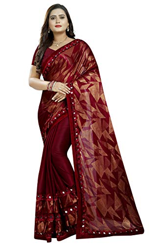 Printed Bollywood Lycra Blend Saree