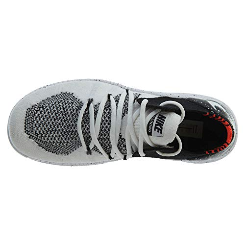 White Running Free 100 de WMNS Chaussures NIKE White Compétition TR black Femme Flyknit 3 Blanc 705Fqw