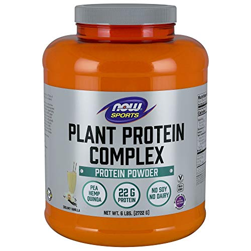 NOW Protein Complex Vanilla 6 Pound product image