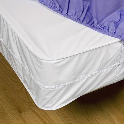 Sleep Safe Zipcover 6 Gauge Vinyl Bed Bug Dust Mite And