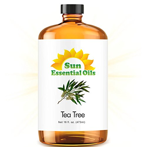 (Bulk Tea Tree Oil - Ultra 16 Ounce - 100% Pure Essential Oil (Best 16 fl oz / 472ml) - Sun Essential)