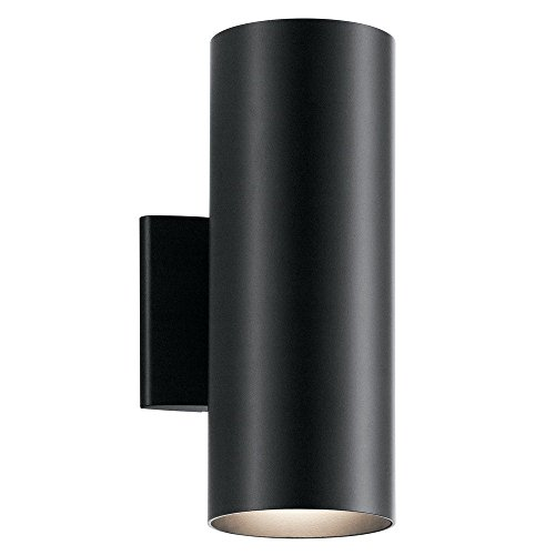 Kichler Lighting 9244BK Two Light Outdoor Wall Mount by KICHLER