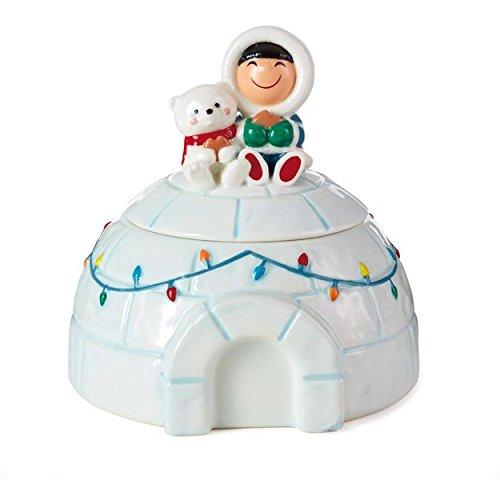 HALLMARK XKT2194 Frosty Friends Treat Jar ()