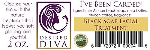 Desired Diva I've Been Carded! Black Soap Facial Wash