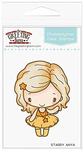 The greeting farm starry anya clear stamp by the greeting farm the greeting farm starry anya clear stamp by the greeting farm llc m4hsunfo