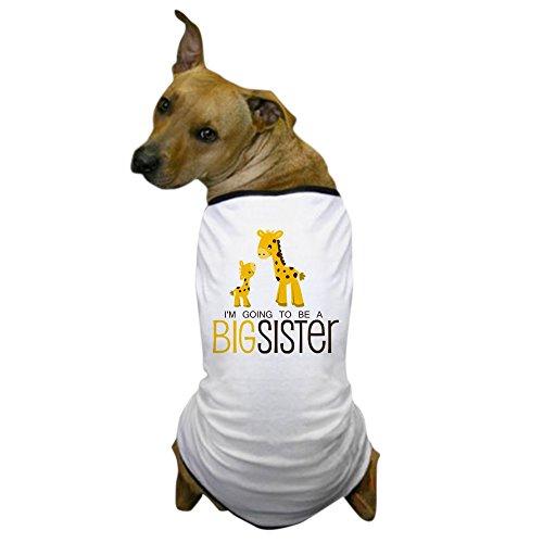 CafePress - I'm Going To Be A Big Sister - Dog T-Shirt, Pet Clothing, Funny Dog (Beagle Pets Ringer)