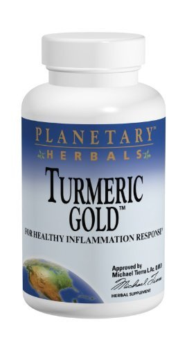 Planetary Herbals Turmeric Gold, 60 Caps, 500 Mg by Planetary Formulas by Planetary Formulas