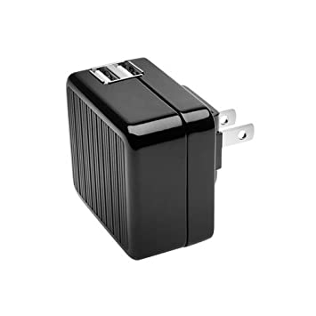 Amazon.com: Kensington AbsolutePower Dual 2.1A USB Wall Charger ...