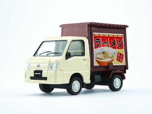 1/36 スバルサンバー 軽トラック ラーメン屋(ベージュ×ダークブラウン) 「ダイヤペット トラックコレクション」 DK-5117