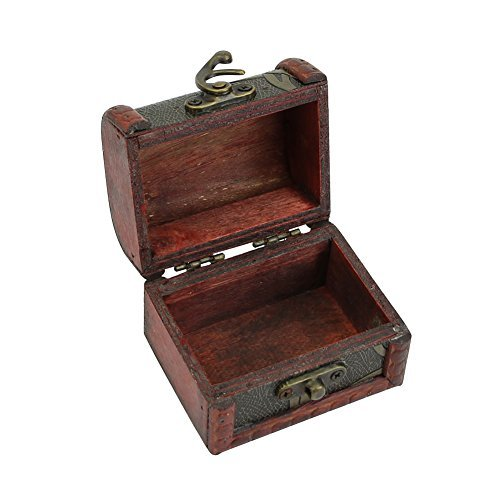 Wrisky Retro Jewelry Pearl Bracelet Necklace Storage Organizer Wooden Case Box Gift Hot