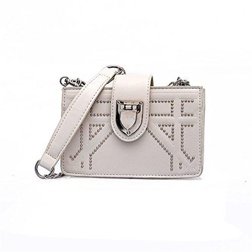 Small Bolso Square White Bolso Amarillo Bag Meaeo Summer Messenger wAHXfnIq