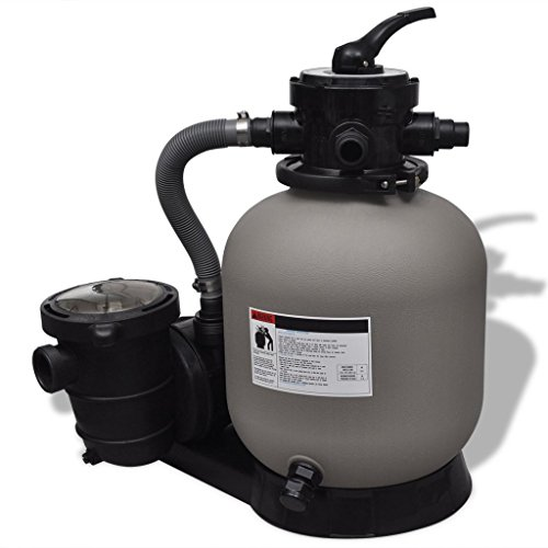 14' Sand Filter (Anself Sand Filter with Pool Pump 14'' for Above Ground Pools)