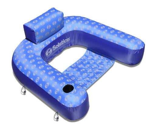 - Solstice by Swimline Designer Loop Lounge Pool Float