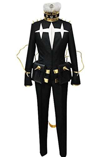 [Cosplaybar KILL la KILL Houka Inumuta Three-star Goku Cosplay Costume Male XXXL] (Goku Costume Women)