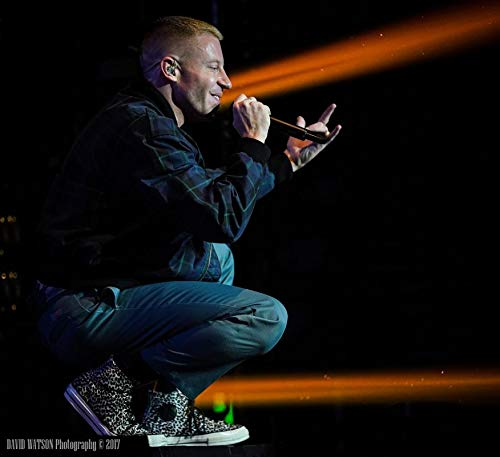 Unique Posters Macklemore American Rapper Singer Songwriter 12 x 18 Inch Quoted Multicolour Rolled Poster UPMA467