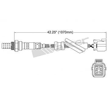 Amazon.com: Walker Exhaust 25024476 4 WIRE O2 SENSOR: Automotive on